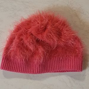 Size S Bebe Pink fluffy beanie
